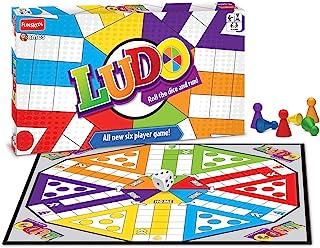 لعبة لوحية لودو لعدد 6 لاعبين من فانزكوول