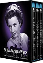 Barbara Stanwyck Collection [Internes Can't Take Money / The Great Man's Lady / The Bride Wore Boots] [Blu-ray]