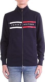 Tommy Hilfiger Logo Zip Through Maglione Uomo