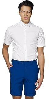 OppoSuits Short-Sleeved Dress Shirt for Men – Stylish Button-up Shirt