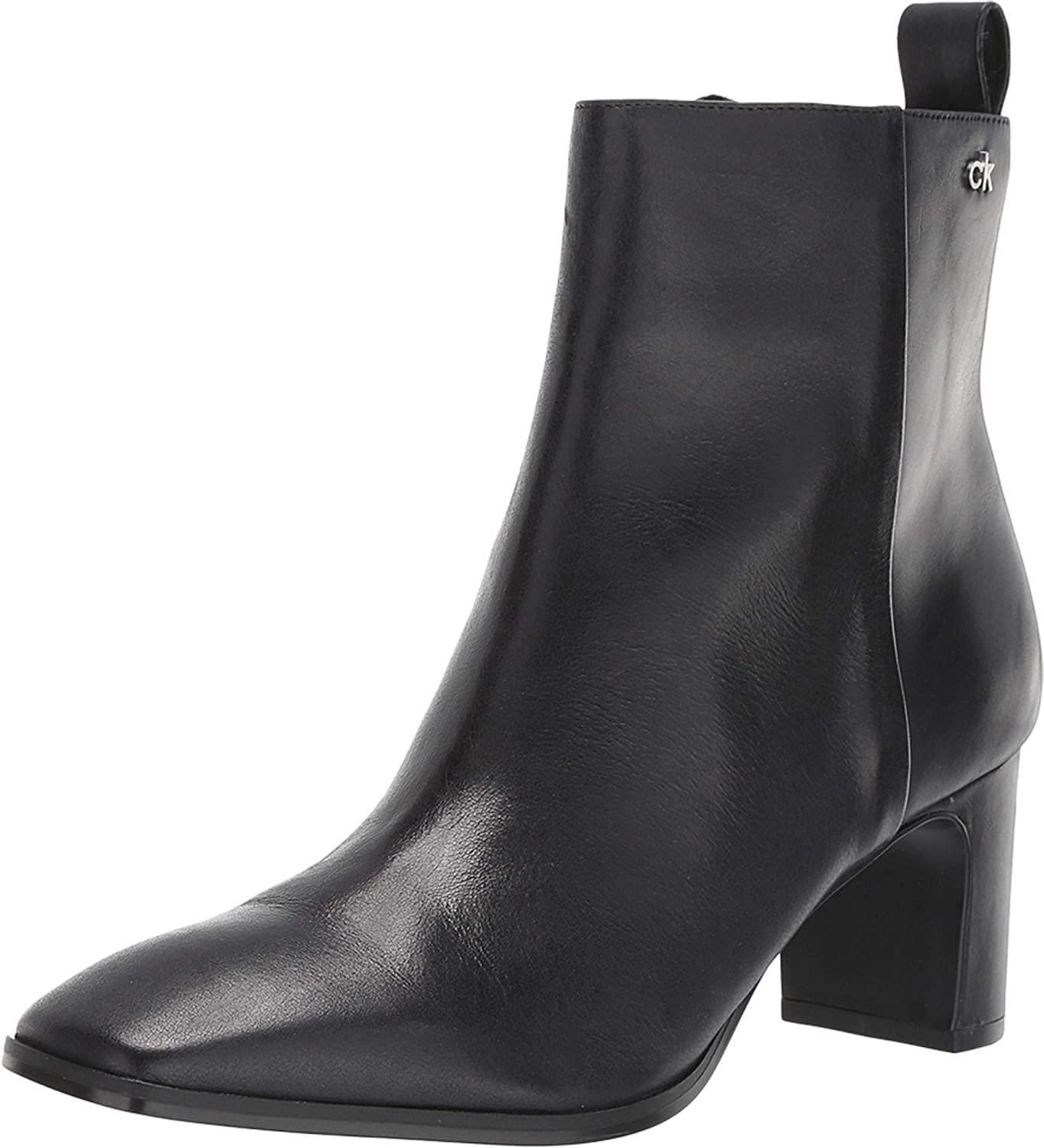 Calvin Klein Special Gifts Campaign Womens Deni Boots Leather Booties Ankle
