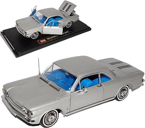 Sun Star Chevrolet Corvair Coupe Silber 1963 1 18 Modell Auto mit individiuellem Wunschkennzeichen