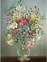 Seawang 5D DIY Full Drill Diamond Painting Flowers Cross Stitch Mosaic Kits (W395)