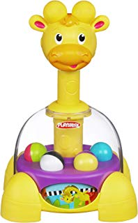 Playskool Tumble Top Spinning and Popping Baby Toy for 1 Year Olds and Up (Amazon Exclusive)