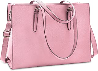 NUBILY Handtasche Shopper Damen Große Handtasche Leder Umhängetasche Arbeitstasche Gross Laptop Business Schule Taschen 1...