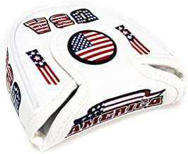 CNC GOLF USA Mallet Putter Cover Headcover for Scotty Cameron Taylormade Odyssey 2ball
