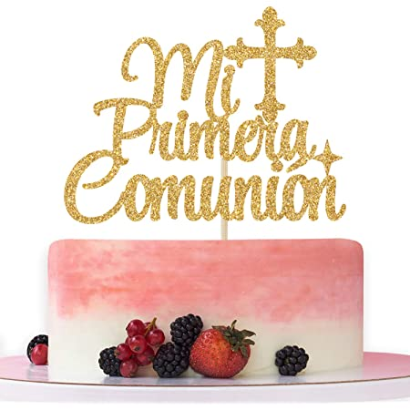 First Holy Communion Chalice Cake Decoration Keepsake Gift Choose Color