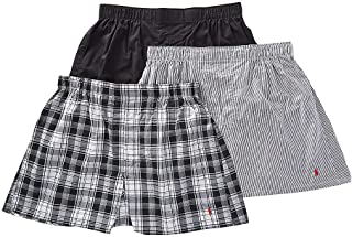 Polo Ralph Lauren Men`s 3-Packaged Woven Boxers