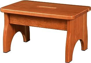 خزائن مخصصة من الخشب الصلب ستيول: مصنوعة يدويا في الولايات المتحدة الأمريكية: للمطبخ أو غرفة النوم أو الحمام (الكرز، طبيعي)