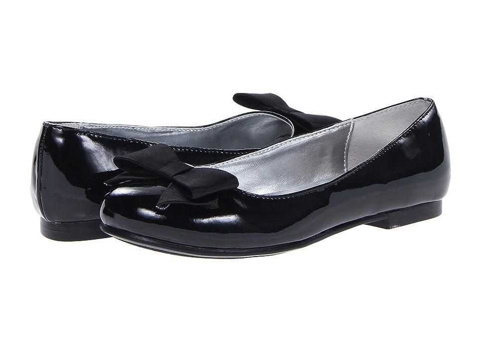 Nina Kids Pegasus (Little Kid/Big Kid) (Black Patent) Girls Shoes