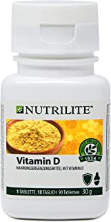 Vitamina D NUTRILITE 90 comprimidos para 3 meses