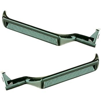Amazon Com Door Handle Black Metal Inner Driver Side Left Lh For Ford Bronco F150 F250 F350 Automotive