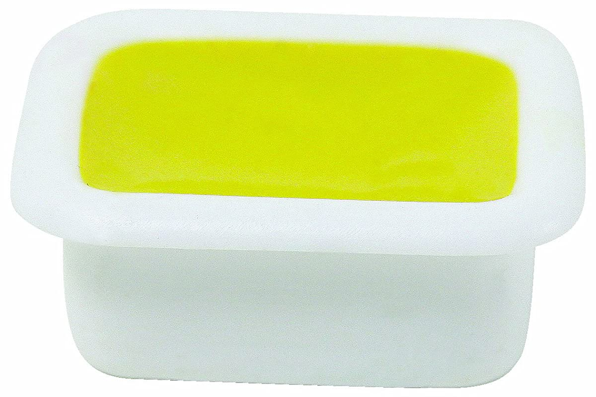 Sargent Art 22-8002 12-Count Half-Pan Single Color Watercolor Cake Refill, Yellow