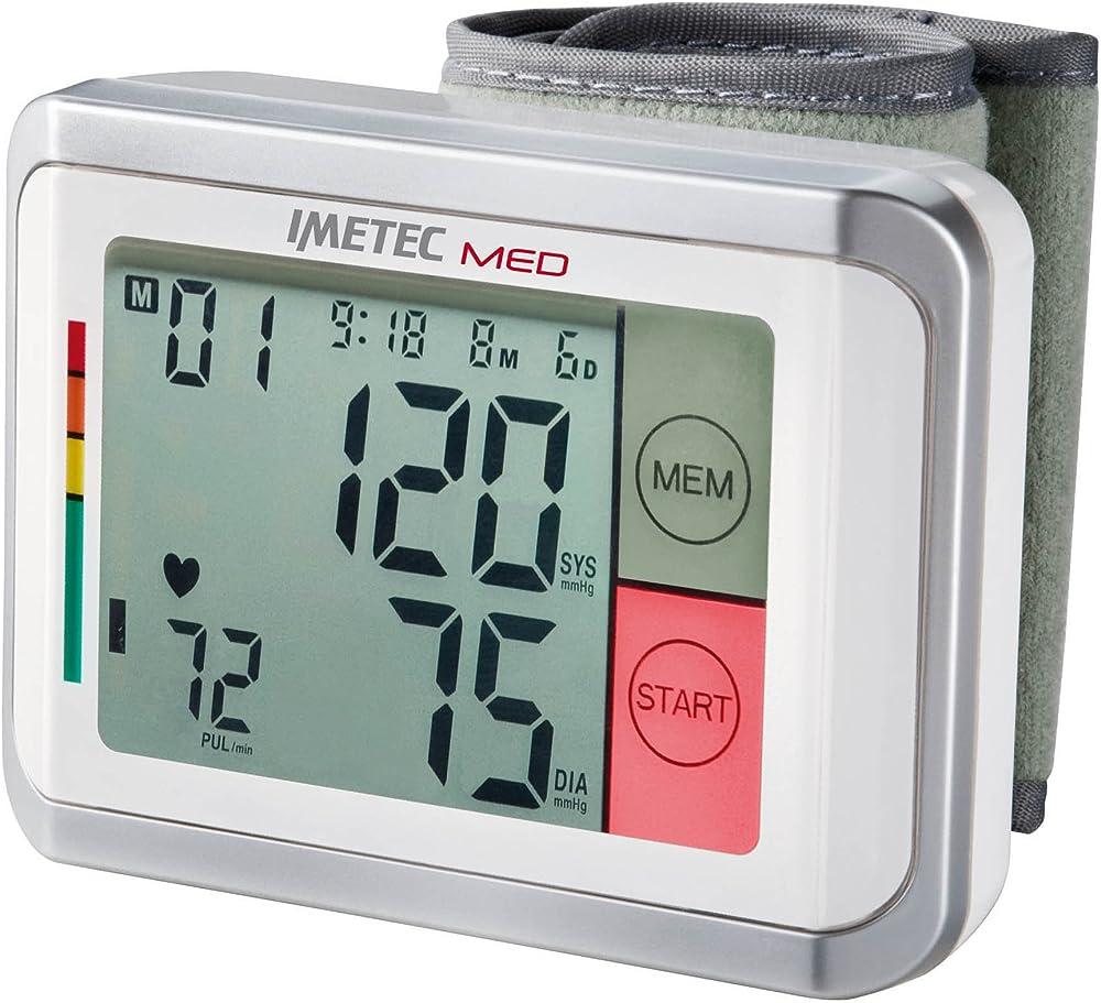 Imetec med bp1,misura pressione arteriosa,con funzione vocale MED BP1 100