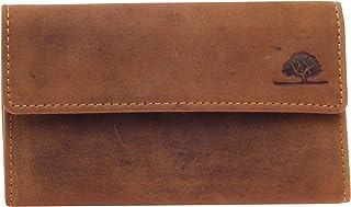 Greenburry Tabaktasche Leder Vintage 15x9x2,5cm Drehertasche Tabakbeutel