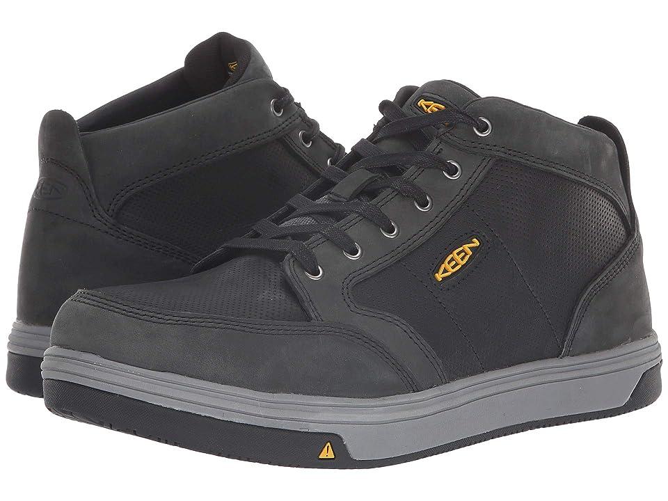 Keen Utility Redding Mid Aluminum Toe (Slate/Black) Men