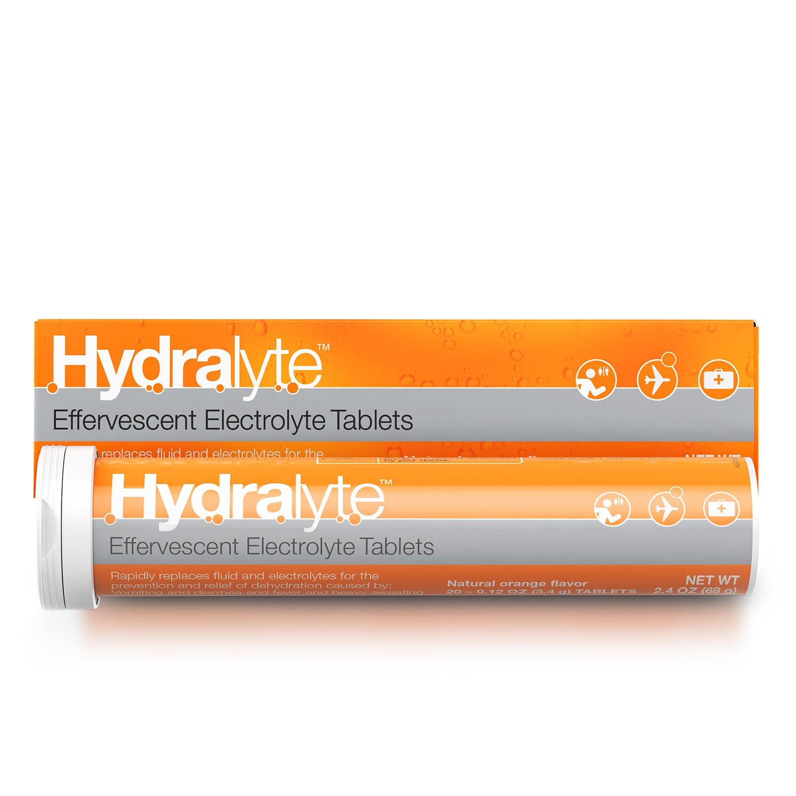 Hydralyte Effervescent Electrolyte go Rehydration