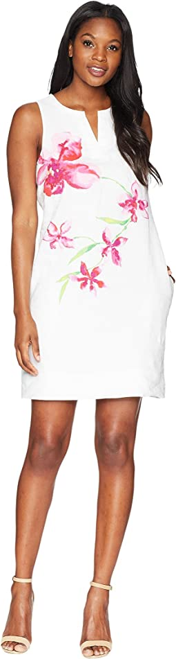 Floral Fade Shift Dress