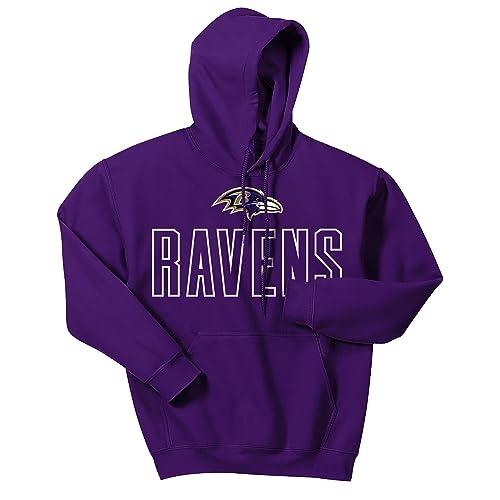 b395b717 Baltimore Ravens Sweatshirt: Amazon.com