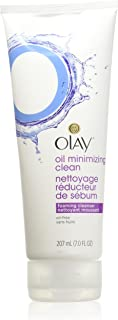 OLAY Oil Minimizing Clean, Foaming Cleanser 7 oz (Pack of 3)