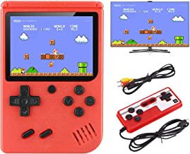 VanBasic Handheld Game Console, TV Video Game Retro Mini Game Player Travel Game with 400 Classical FC Games 3.0 Inch Colo...