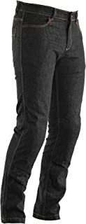 RST 2004 Aramid Straight Leg CE Mens Motorcycle Textile Jeans - Black 40