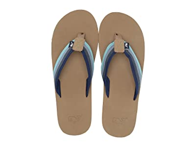 Vineyard Vines Ombre Strap Flip-Flop (Deep Bay) Men