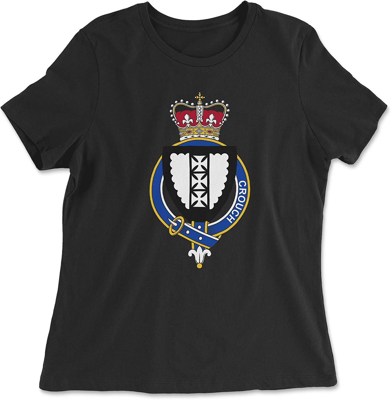 HARD EDGE DESIGN Women's English Garter Family Crouch T-Shirt
