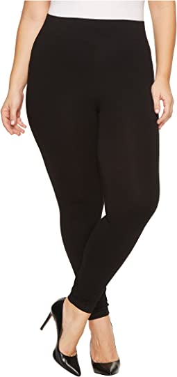 fbfdc6c2ef3 Plus Size High Waist Blackout Ponte Leggings.  53.00. Black