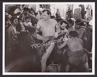 8x10 Photo~ Tarzan Movies ~Herman Brix aka Bruce Bennett ~Hunters Brawl