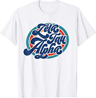 Zeta Tau-Alpha ZTA Sorority Retro Vintage Greek T-Shirt