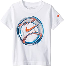 Nike Kids Brush Baseball Cotton Tee (Toddler)