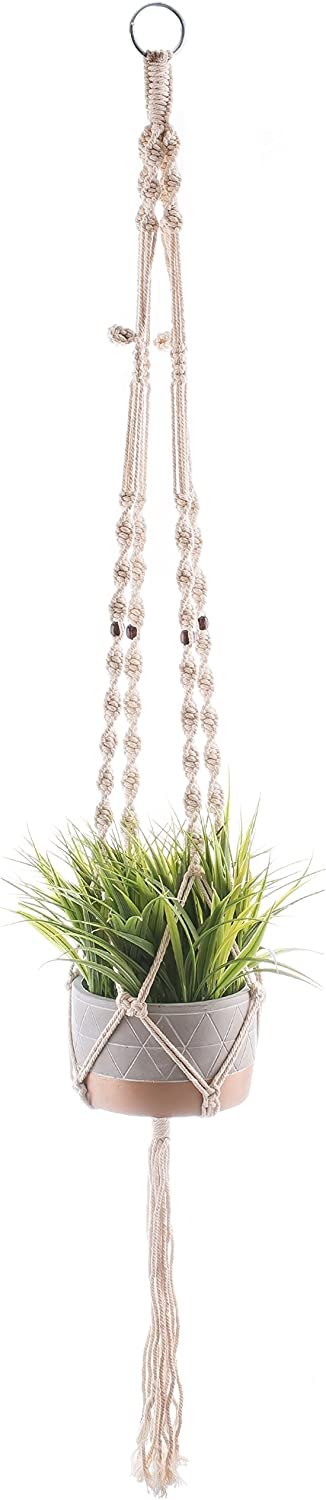 Macrame Plant Quality inspection Hangers Hanging Planters Low price Co - Percent 100 Handmade