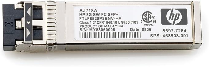 HPE HP 8GB Short Wave FC SFP+ 1 Pack