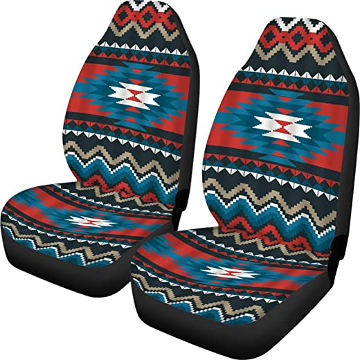 FUSURIRE Fashion Leopard Car Seat Covers Front Seat Only Full Set of...