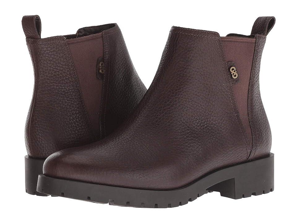 Cole Haan Calandra Waterproof Bootie (Java Waterproof Leather) Women