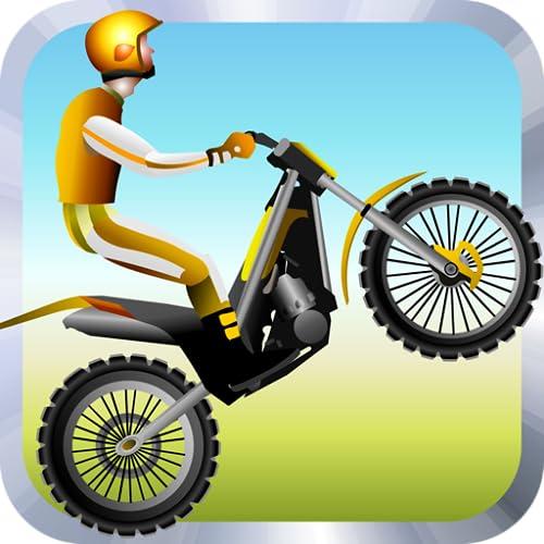 Moto Race -- physics motorcycle dirt racing game