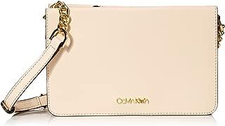 Calvin Klein womens Calvin Klein Hayden Saffiano Organizational Crossbody