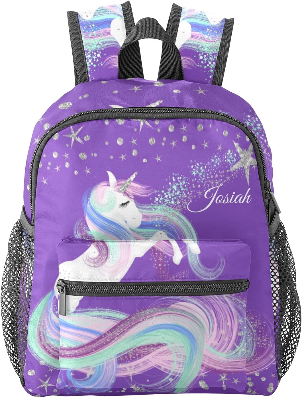 Personalized Starry Stars Unicorn Max 52% OFF School Kid Outlet sale feature Kindergart Backpack