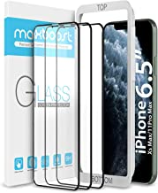 """Maxboost (3 Pack) Edge-to-Edge Screen Protector for Apple iPhone 11 Pro Max and iPhone Xs Max (6.5"""") Full Framed Tempered Glass Screen Protector Compatible with iPhone Xs Max/11 Pro Max - 3 Pack"""