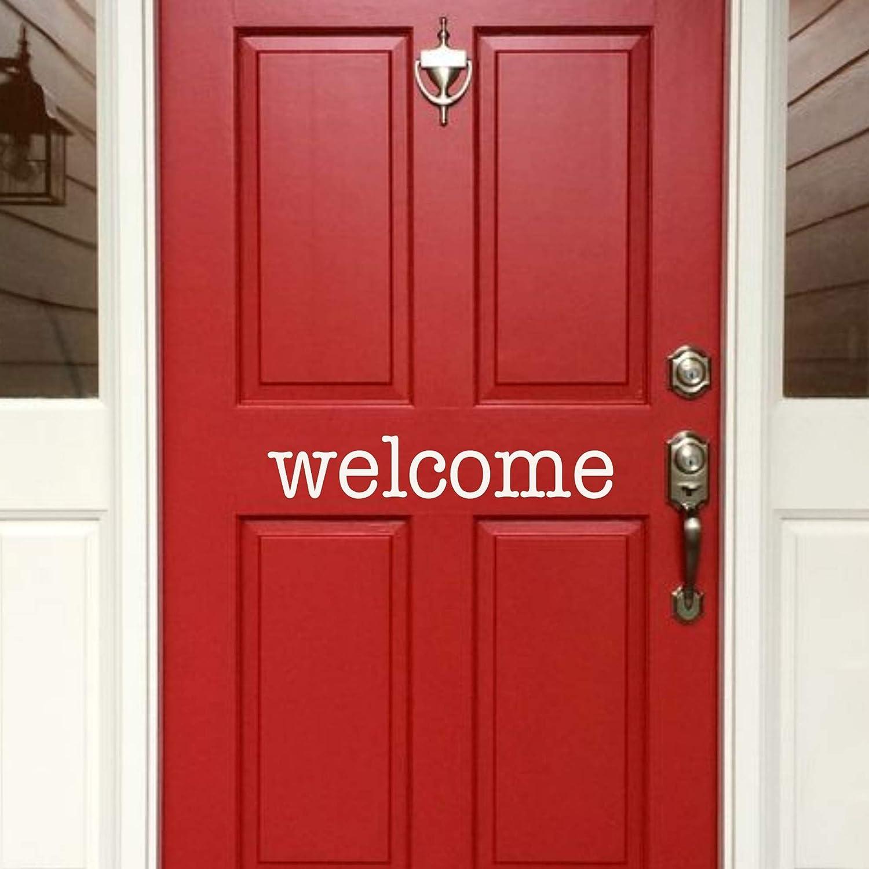Back40Life - Welcome Front Albuquerque Mall E-001c Vinyl Door price Decal