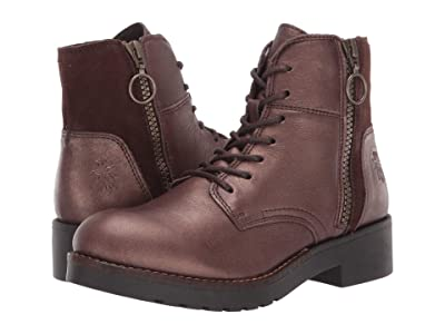 FLY LONDON BUNA489FLY (Dark Brown Janeda/Ranch) Women