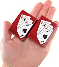 Sago Brothers Poker Playing Cards Mini Traveling Decks Cards 2 Pack