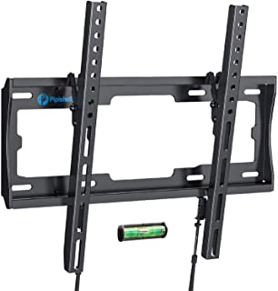 Tilt TV Wall Mount Bracket Low Profile for Most 23-55 Inch LED LCD OLED Plasma Flat Curved Screen TVs, 8 Degrees Tilting f...