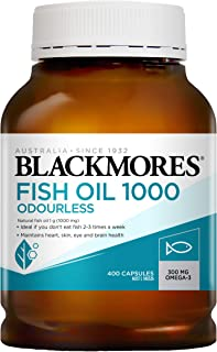 Blackmores Odourless Fish Oil, 400ct