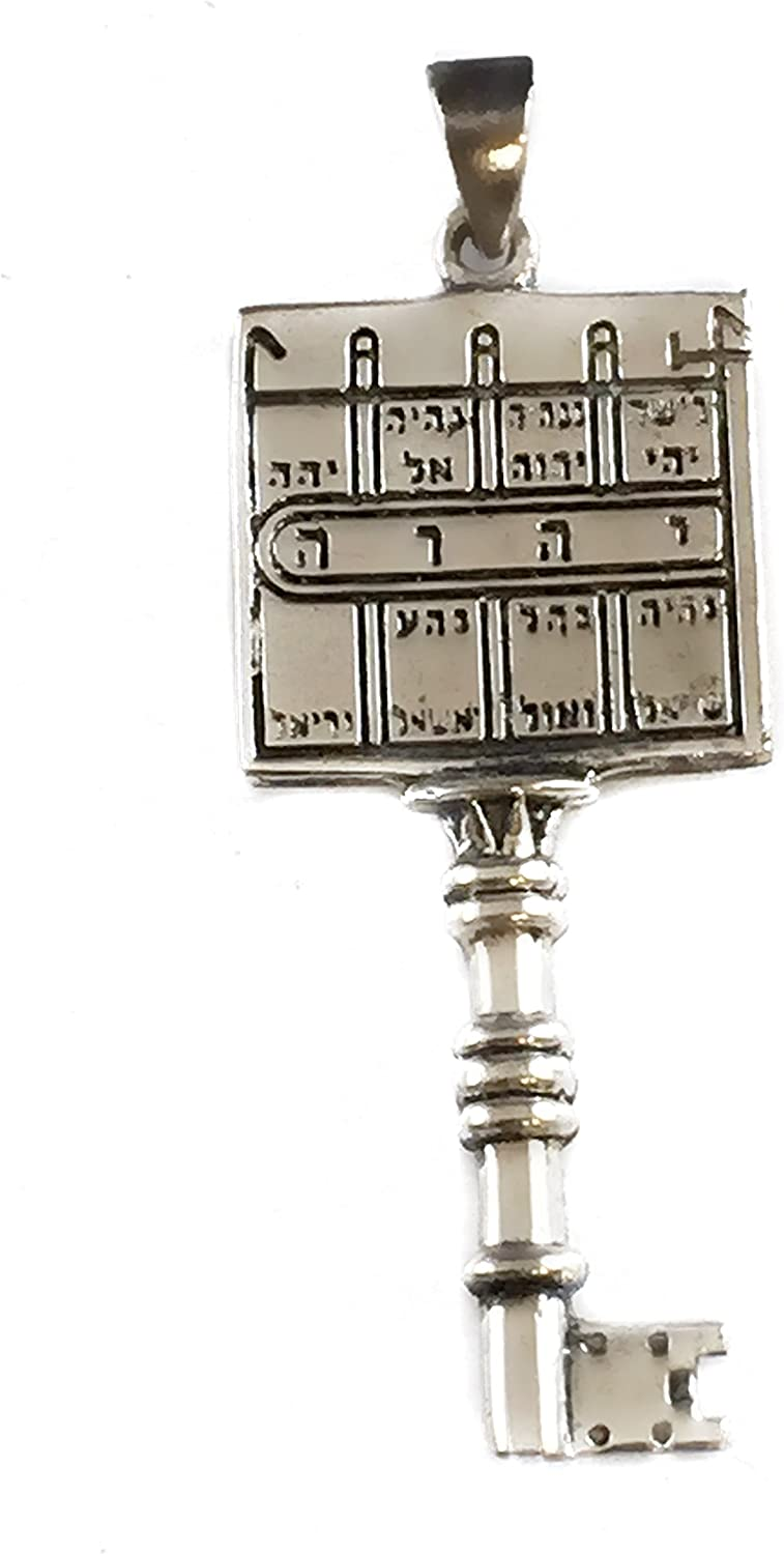 Paths Clearing 35% OFF King Solomons Seal It is very popular Sterling Pendant Kabbalah Silv