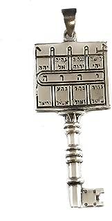Paths Clearing King Solomons Seal Kabbalah Pendant Sterling Silver 925