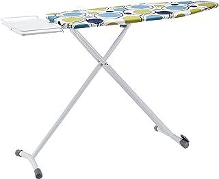 Amazon Basics Planche à repasser avec repose-fer, Grand modèle, 122 x 43 cm - Blanc