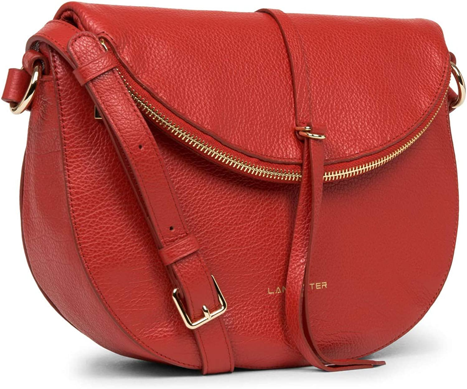 LANCASTER Sac besace Rouge