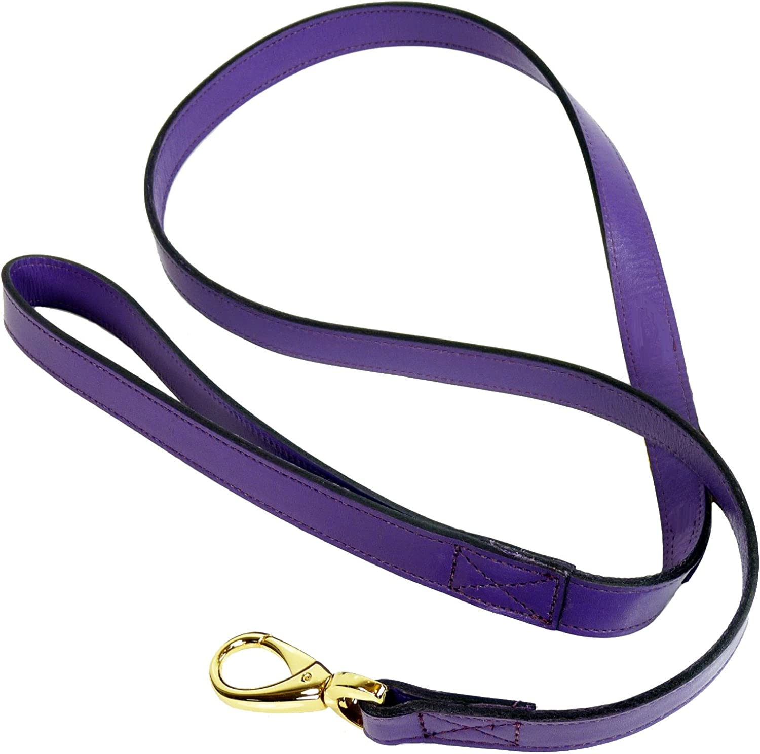 Hartman & pink Haute Couture Octagon Dog Lead, 3 4Inch, Grape